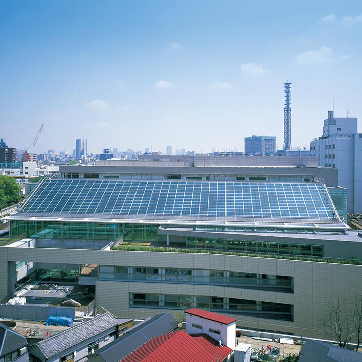 写真:東京女子医科大学病院総合外来センター
