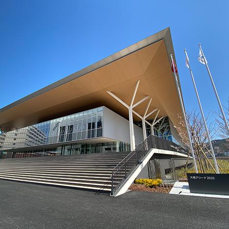写真:九州産業大学大楠アリーナ2020