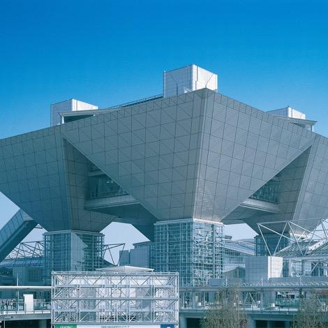 写真:東京ビッグサイト(東京国際展示場)