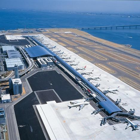 写真:関西国際空港第1ターミナルビル