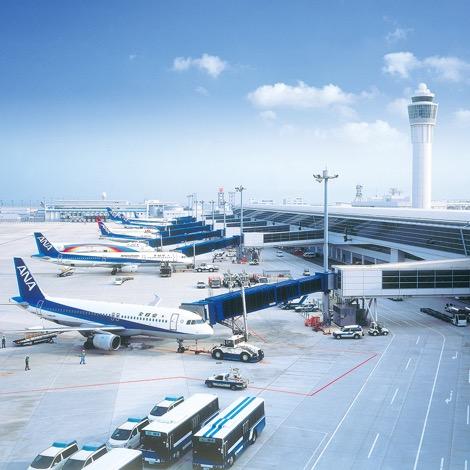 写真:中部国際空港セントレア
